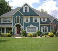 gray houses with white trim exterior house colors for ranch style