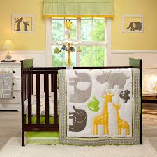 Jungle Themed Nursery Bedding Sets by Amazon Com Carter U0027s Animals Collection 4 Piece Crib Set Baby