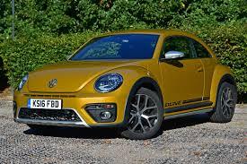 volkswagen bug yellow volkswagen beetle dune coupe review 2016 parkers