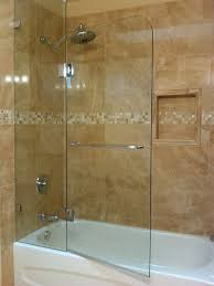 Bathtub Shower Stalls Bathtubs Bathroom Shower Glass Door Ideas Harga Glass Shower