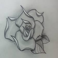 paperlike rose tattoo sketch best tattoo designs
