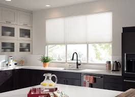 window treatments for kitchens kitchen curtains kitchen window treatments budget blinds