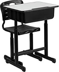 Wooden Student Desk Amazon Com Desk And Chair Set Combo Child Study Student