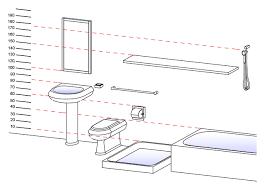 Ada Bathroom Dimensions Ada Bathroom Dimensions For Handicap Inspiration Home Designs For