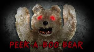 deady bear spirit halloween tekky u0027s peek a boo bear youtube