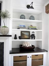 built in love the contrast of white and espresso cabinet doors
