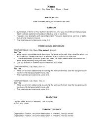 download chronological resume template haadyaooverbayresort com