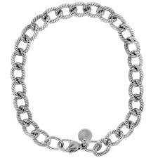 bracelet link silver sterling images Tiffany and co sterling silver 2mm cable link bracelet jpg