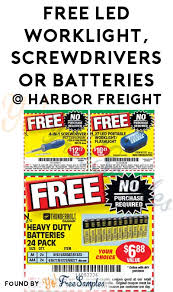 harbor freight light bar free led worklight screwdrivers or batteries at harbor freight with
