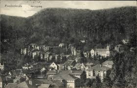Ak Ansichtskarte Friedrichroda Blick Vom Herzogsweg Ak Friedrichroda Im Thüringer Wald Blick über Die Dächer