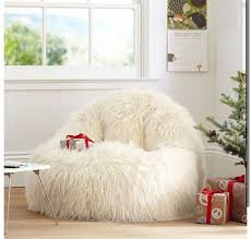 Dorm Room Bean Bag Chairs - pbteen fuzzy chair i want one of these so bad it looks so