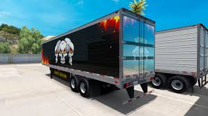 semi trailer truck semi trailer trucking reaper for american truck simulator