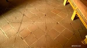 Old Becomes New With Coconut And Teak Tiles Made From by Traditional Flat Earthen Roof Using Eeta Leaves
