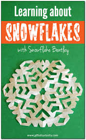 snowflake bentley book learning about snowflakes with snowflake bentley gift of curiosity