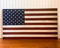 wooden american flag wall wood american flags etsy