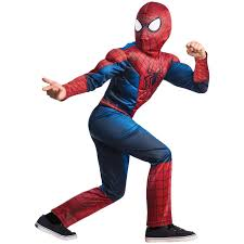 buy the amazing spider man 2 deluxe child costume