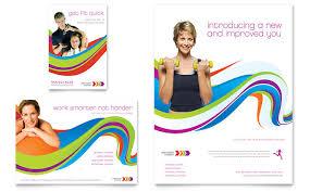 personal training ad templates word u0026 publisher