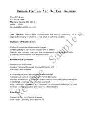 sample resume for dietary aide aid worker sample resume