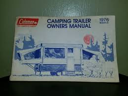 coleman popup trailer owners manual 1976 concord patriot