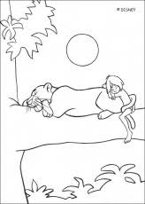 jungle book coloring pages 2 free printable coloring pages
