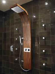 Bathroom Shower Panels Aqvaplana Wood Shower Panel Bathroom Pinterest Bathroom