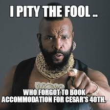 I Pity The Fool Meme - meme creator i pity the fool that leaves meetings early