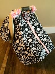 Pink Car Seat Canopy by Carseat Canopy Black And Light Pink Car Seat Cover Car Seat