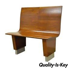 Antique Parsons Bench Mid Century Modern Antique Benches U0026 Stools 1950 Now Ebay