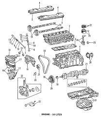 lexus is300 parts diagram parts com lexus engine cylinder valves valve lifters
