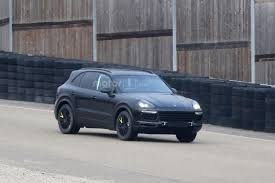 Porsche Cayenne 1st Generation - 2018 porsche cayenne first spy shots ultimate car blog