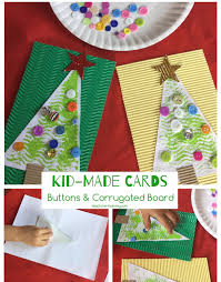 buttons u0026 corrugated board christmas cards board christmas