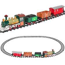 classic train set for kids with music and lights battery operated