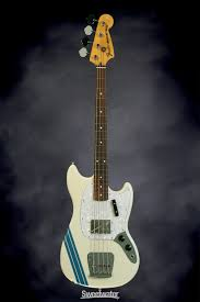 pawn shop mustang bass fender pawn shop mustang bass rosewood olympic white