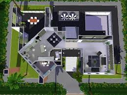 sims 2 modern house blueprints house interior