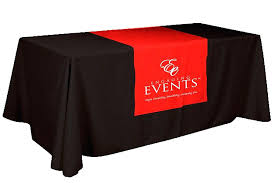 table skirts with logo runner direct linen online fitted 3827