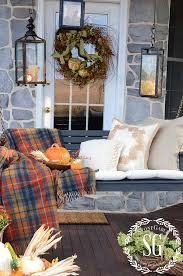 40 amazing fall inspired front porch decorating ideas