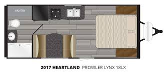 2017 heartland prowler lynx 18lx travel trailer u2013 stock pl17002