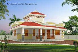 traditional style kerala home naalukettu with nadumuttom low