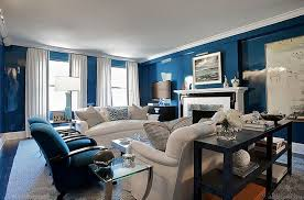 royal blue living room home living room ideas