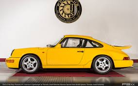 ruf porsche 964 find of the day porsche 964 carrera 4 lightweight with 550 km u2013 p9xx