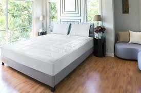 full size mattress pad soft plush fitted pillow top bed loft king size mattress topper pillow top bed cover comforter pad