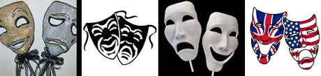 comedy tragedy mask tattoos what do they mean theatre mask