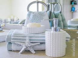 by the sea bath accessories bathroom decor