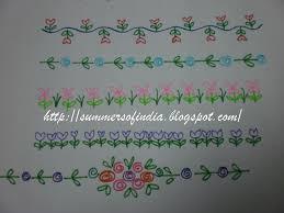 20 gadapa designs a simple rangoli border a vasal padi
