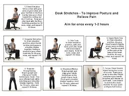 exercises to do at your desk a workout at work office exercise poster within to do your desk