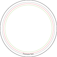 1 Inch Circle Template by Graphic Punch Model 4000 3 1 2 Inch