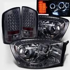 2006 dodge ram 2500 headlight bulb amazon com rxmotoring 2006 dodge ram 1500 projector headlights