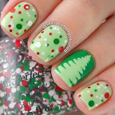 30 most cute christmas nail art designs christmas celebrations