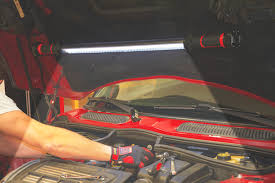 harbor freight light bar provides light under the hood when working on your vehicle harbor