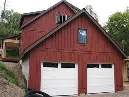 Red Barn Door by Red Barn Garage Doors Types Of Carriage Garage Doors Ward Log